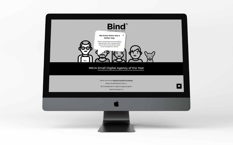 Bind-Website-CatrinEllisDesign